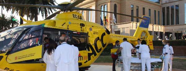 Centro Médico Teknon Helicóptero
